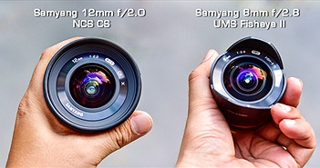 Trên tay và trải nghiệm hai ống kính Samyang: 12mm f/2 và Fisheye 8mm f/2.8