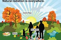 Chúng ta hàng ngày tiếp xúc với các nguồn có chứa phóng xạ này