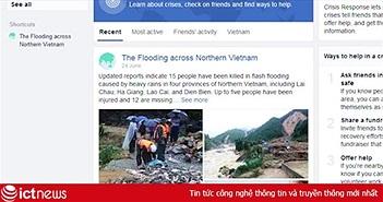 3 bước kiểm tra an toàn của người thân trong trận lũ Tây Bắc bằng Facebook