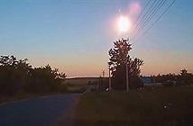 Tiểu hành tinh nổ tung trên bầu trời Nga