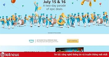 Ngày hội mua hàng giảm giá Amazon Prime Day 2019 kéo dài hai ngày