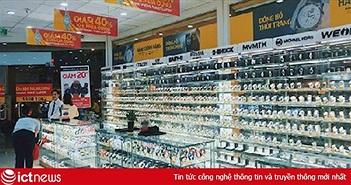 Thế Giới Di Động chiếm lĩnh phân nửa thị trường bán lẻ đồng hồ thông minh từ mô hình shop-in-shop