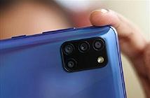 Cận cảnh Samsung Galaxy A31 với giá 6,49 triệu đồng
