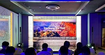 Samsung ra mắt màn hình The Wall 146 INCH giá từ 9 tỷ