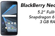 Lộ hình ảnh chính thức của BlackBerry Neon, ngoại hình không còn BlackBerry chút nào