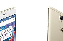 OnePlus 3 màu vàng bắt đầu được bán ra