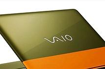 VAIO ra laptop thời trang, cấu hình thấp nhưng giá siêu cao