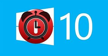 Hướng dẫn lên lịch tắt máy tính Windows 10