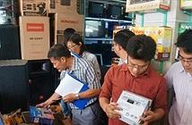 Đầu thu số DVB-T2 ồ ạt giảm giá trước ngày tắt sóng truyền hình analog