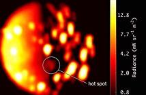 Ấn tượng núi lửa mới trên Mặt trăng sao Mộc