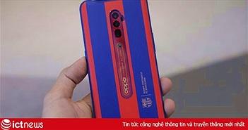 Hình ảnh chi tiết Oppo Reno Zoom 10x phiên bản đặc biệt Barcelona tại Việt Nam, giá 24,99 triệu đồng