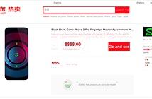 Chưa ra mắt, Xiaomi đã cho đặt hàng trước Black Shark 2 Pro
