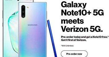 Mua Note 10+ 5G tặng miễn phí 1 chiếc Note 10