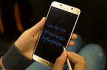 Rút bút viết ngay - tính năng rất tiện của Galaxy Note 5, không cần unlock, không cần nhấn nút