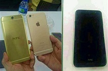 Điện thoại HTC A9 với mặt sau giống iPhone lộ ảnh