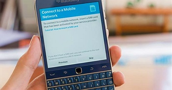 "BlackBerry Classic Blue ""lặng lẽ"" về Việt Nam"