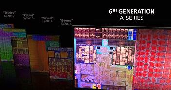 AMD giới thiệu dòng vi xử lý AMD A-Series APU thế hệ thứ 6