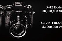 Fujifilm X-T2 chính thức bán ra tại Việt Nam: Giá 36,990,000đ