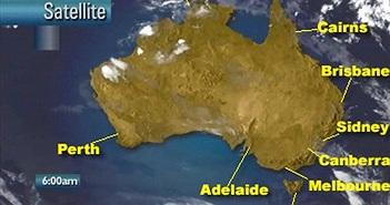 Australia số hóa dữ liệu đi biển cũ để dự báo thời tiết