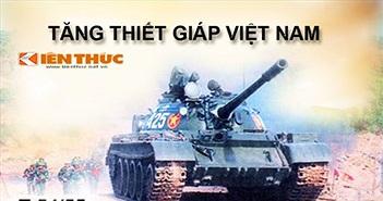 Infographic: Sức mạnh xe tăng – thiết giáp Việt Nam (1)