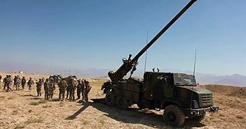 Pháp tung pháo tự hành Caesar vào cuộc chiến với IS