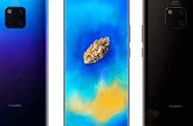 Huawei Mate 20 Pro đã hiện hình với thiết kế độc