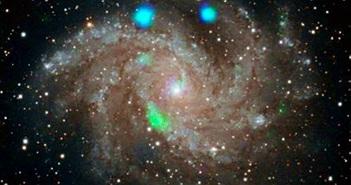 Bật mí thiên hà pháo hoa phát sáng trong môi trường tia X