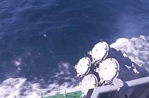 Cận cảnh tàu hộ vệ Smerch Hải quân Nga phóng tên lửa Kh-35
