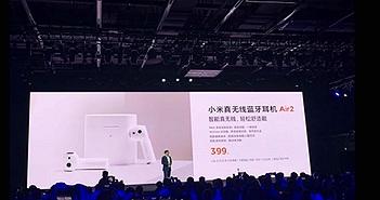 Tai nghe không dây Xiaomi Air 2 vẫn nhái thiết kế Airpods