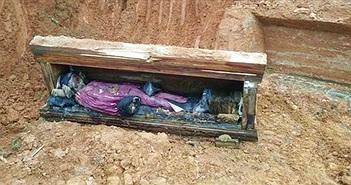 Khai quật mộ cổ chứa thi thể nam nhân còn nguyên vẹn nghi là công tử quý tộc Trung Hoa cổ đại