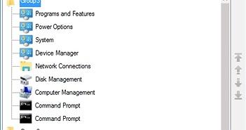 Windows 10: Tối ưu hóa trình đơn Win+X