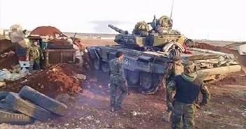Bó tay lý do Quân đội Syria để mất xe tăng T-90