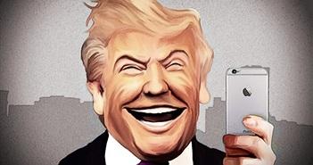 Tổng thống Trump chê iPhone đời mới không có nút Home