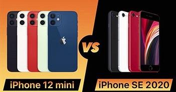 iPhone 12 Mini vs iPhone SE 2020: Lựa chọn nào cho bạn?