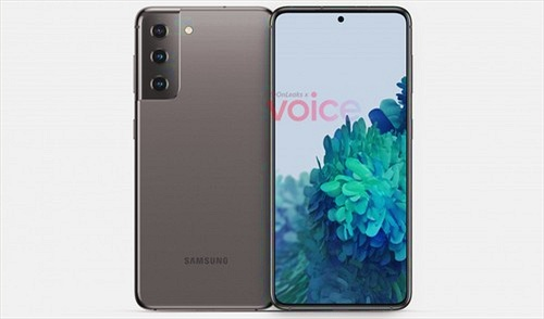 Samsung Galaxy S21 lộ thiết kế