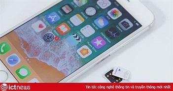 SIM ghép quay lại, iPhone khoá mạng bán chạy