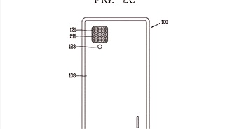 LG nhận bằng sáng chế cho smartphone với 16 camera sau