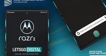 Motorola đã chuẩn bị sản xuất Razr 2 với loạt công nghệ ấn tượng