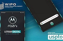Motorola nộp bằng sáng chế cho thiết bị di động mới
