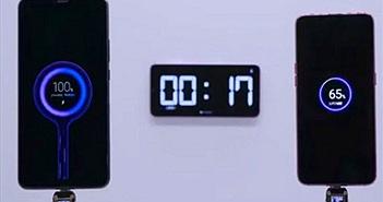 Xiaomi giới thiệu công nghệ sạc nhanh gấp 5 lần iPhone 11