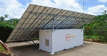 """Giải pháp ứng phó thiên tai của tương lai: Một container """"chứa đủ điện"""" cho 3 hộ gia đình cùng dùng"""