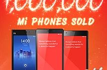 Xiaomi bán được 1 triệu smartphone tại Ấn Độ
