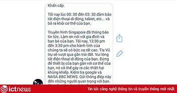 Rộ trò lừa 'tắt điện thoại tránh tia vũ trụ' trên Facebook ở VN