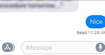 """iMessage đánh dấu tin nhắn là """"đã xem"""" như thế nào?"""
