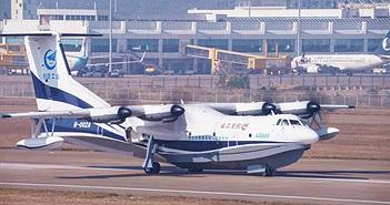 Thủy phi cơ lớn nhất thế giới của Trung Quốc đã cất cánh thành công