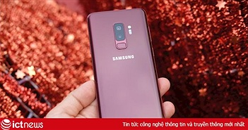 Cận cảnh Galaxy S9+ vang đỏ tại Việt Nam, giá 19,99 triệu đồng