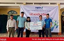 NAPAS khởi công xây dựng công trình phòng học và giáo vụ cho học sinh miền núi huyện Đà Bắc Hòa Bình