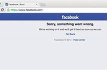 Facebook bị sập hoàn toàn tại Việt Nam