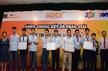 Học sinh TP.HCM, Hưng Yên vô địch thi lập trình Alice 2014