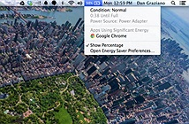 8 mẹo cải thiện pin cho MacBook